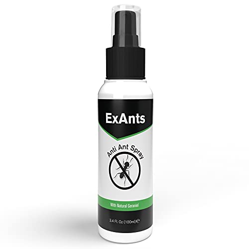 Anti Ant Spray by EXANTS I 100 ml I Contains organic Geraniol and Essential...