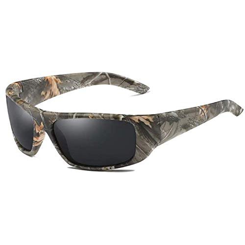 ZXTYJ Gafas de Sol polarizadas de los Deportes for Mujeres de los Hombres de béisbol Correr Ciclismo Conducción Pesca Golf Softball Senderismo Gafas de Sol (Color : A)