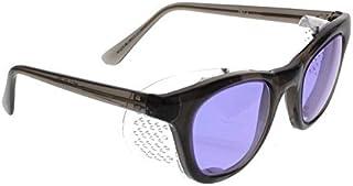 شیشه ای Ace Didymium شیشه ای در اقتصاد قاب پلاستیکی ایمنی با محافظ های دائمی - ابعاد چشم 50 میلی متر