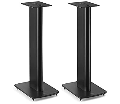 KEF Performance Speaker Stand - Designed for LS50, LS50 Wireless and other KEF standmount speakers (Pair), Black from KEF