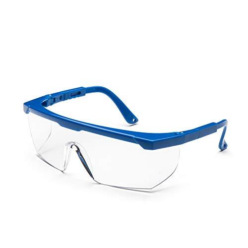 Gafas protectoras Univet 511.03.01.00H, para niños, patilla según EN166, con protección lateral y correa ajustable