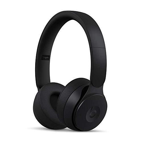 Beats Solo Pro Wireless ワイヤレスノイズキャンセリングヘッドホン-Apple H1ヘッドフォンチップ、Class 1 Bluetooth、アクティブノイズキャンセリング機能、外部音取り込みモード、最長22時間の再生時間- ブラック