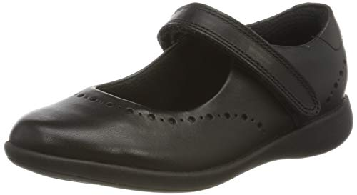 Clarks Etch Craft Kid Black Leather