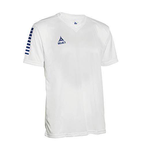 SELECT Pisa Jersey, Maglia Unisex-Adulto, Bianco Blu, M