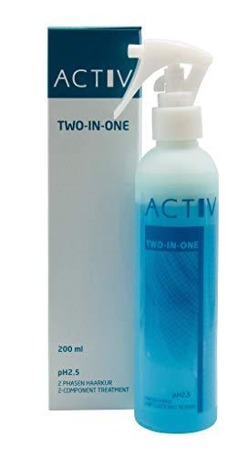 Luttmann gfh ACTIV TWO IN ONE Leave In Haarkur Sprühkur 200ml pH 2.5 für - Haarsysteme, Echthaarperücken, Kunsthaarperücken, Haarteile , Wig , Perücken, Extensions, Haarverlängerungen