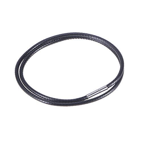 Supvox Cuerdas de cera Hilo encerado Moda DIY Cable 3.0 mm Cristal...