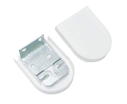 Gardinia Rolloträger, Kunststoff, weiß, 0.1, 2