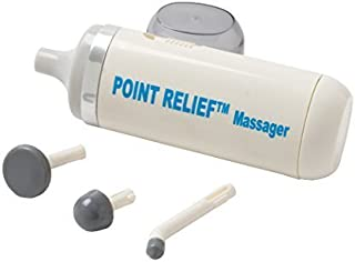 Point Relief® Mini-Massager Battery-Powered for Pain Relief, Tension Relief and Massage Therapy