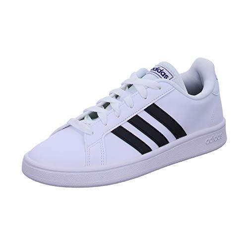 adidas Grand Court Base, Zapatos de Tenis para Hombre, Ftwbla Negbás Azuosc, 43 1/3 EU