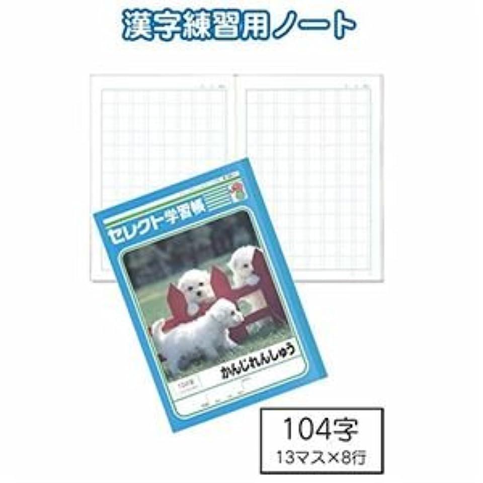 学習帳K-50-1かんじれんしゅう104字 【10個セット】 32-916