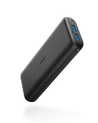 Anker PowerCore 20000 Redux, 20000mAh Powerbank, Kompakter externer Akku mit hoher Kapazität, dualen Eingängen mit 4.8A Leistung, für iPhone, Samsung Galaxy und mehr