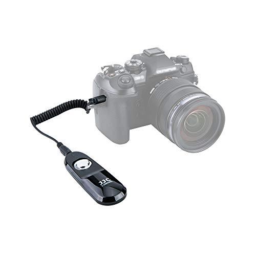 JJC Fernauslöser mit Kabel für Spiegellose Olympus Systemkamera OM-D E-M1 Mark II, OM-D E-M1X - Ersetzt Original Olympus Auslösekabel RM-CB2