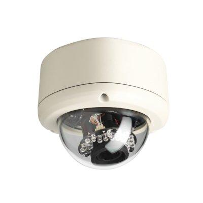 CVMW3025-IR | Mini-Domo IP D&N CMOS 3Mpx, 0.5 lux ICR, LEDs IR 15m, H.264/MJPEG, óptica varifocal de 3-9mm, DigitalWDR, IP66, 24Vac/PoE