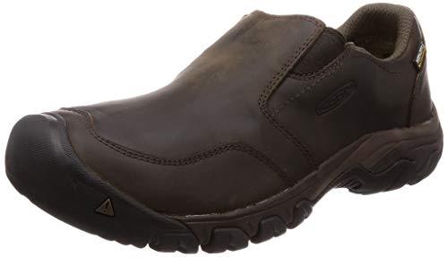 KEEN Men's Brixen Ii Waterproof Hiking Shoe, Dark Earth, 10 M US