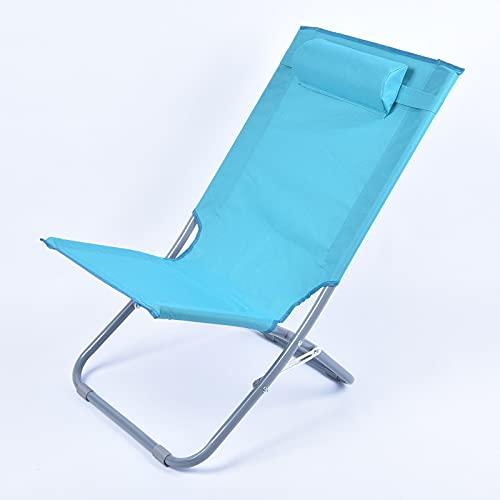 LQ-MAOZI Tumbona portátil para Playa, reclinable, Plegable, para jardín, Ligera y cómoda...