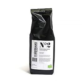 Sjöstrand N2 Colombia Ground Coffee Single Origin 250g – 100% Organic Arabica Beans | Finest Quality French Press Coffee