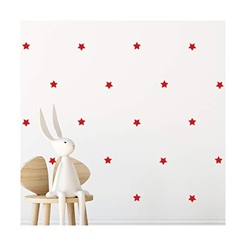 StickerDeen | Decoración con forma de estrella redondeada para ventana, muebles, decoración...