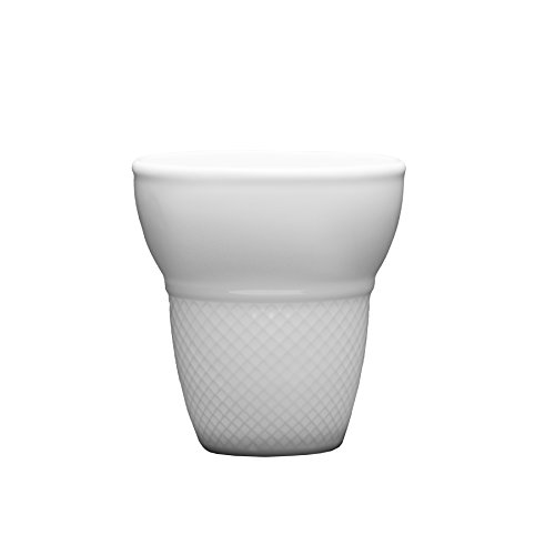 Fortessa Fortaluxe Food Truck Chic Large Cone Shaped Waffle Cup, 3.5-Inch, Set of 4