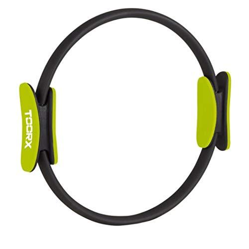 Toorx AHF-067, Pilates Ring Unisex Adulto, Nero, 57x43x43