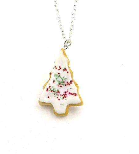 schmuck-stadt Weihnachts-Keks Kette Verschiedene Formen Cookies (Tannenbaum Keks)