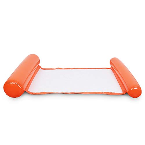 Jia Hu 1pc plegable adulto flotante cama natación piscina accesorio flotador inflable fila