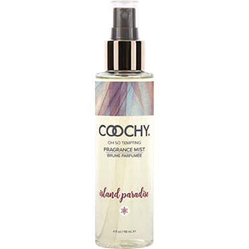 Coochy Island Paradise Fragrance Mist Body Spray - 4oz with Free JO H20 Lube