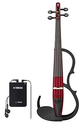 Yamaha Silent Series YSV104 Electric Violin - Red