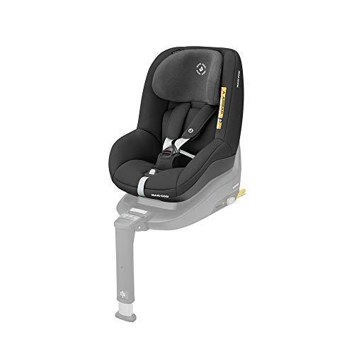 Maxi-Cosi, Pearl Smart i-Size, Kindersitz, rückwärts & vorwärtsgerichtetes Fahren, nutzbar ab ca. 6 Monate bis ca. 4 Jahre, 9-18 kg, 67-105 cm, Authentic Black (schwarz)