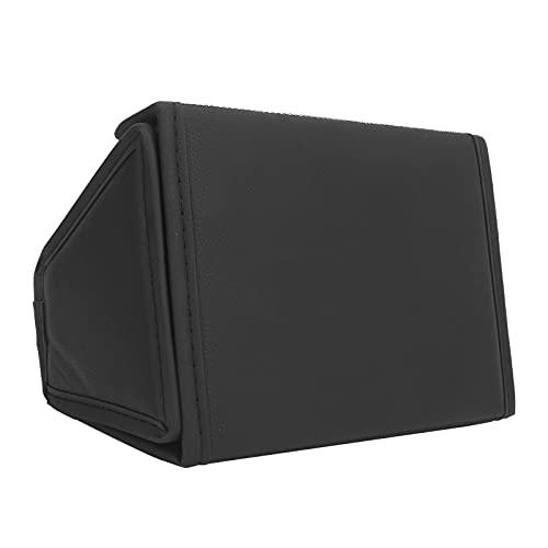 WESE Organizador De La Consola Central Trasera, Diseño De Gancho De La Caja De Almacenamiento del Asiento Trasero Fácil De Empujar para El Modelo Y De