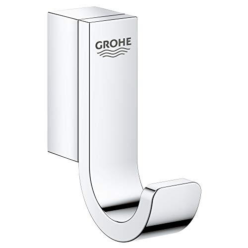 Grohe 41039000 Selection Gancio Singolo, Metallo, Cromo