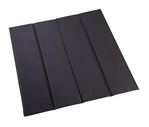 Miles Kimball Vinyl-Covered Furniture Savers, Black