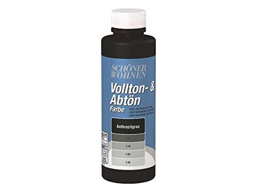 Voll- und Abtönfarbe Anthrazitgrau 500 ml