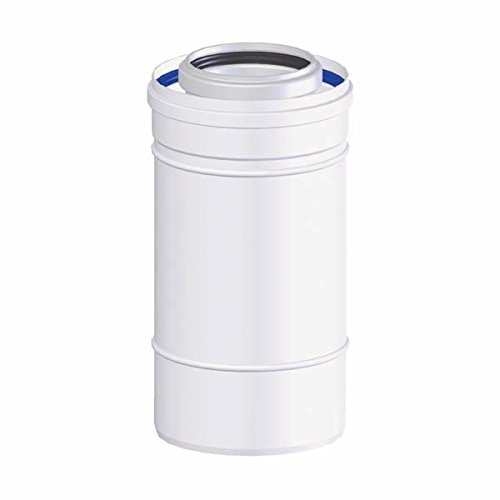 T.E.N tôlerie - Rallonge de ventouse condensatoire (longueur : 1M - D.80/125)