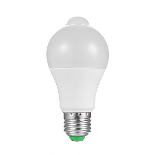 bulbo llevado Sensor PIR E27 10 W AC 220 V 110 V anochecer al amanecer bombilla día noche sensor de movimiento para la iluminación casera