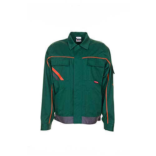 Größe 38 Herren Planam Visline V2 Bundjacke grün orange schiefer Modell 2482