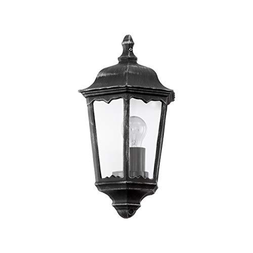 Eglo 93459 Lanterne, Aluminium, E27, Gris