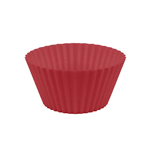 7cm Silicone Muffin Cup, Baking Mold Cake Bottom Support, Reusable Cupcake Liners, 8 Colors, for DIY Cake Balls, Muffins, Cupcakes, Pudding