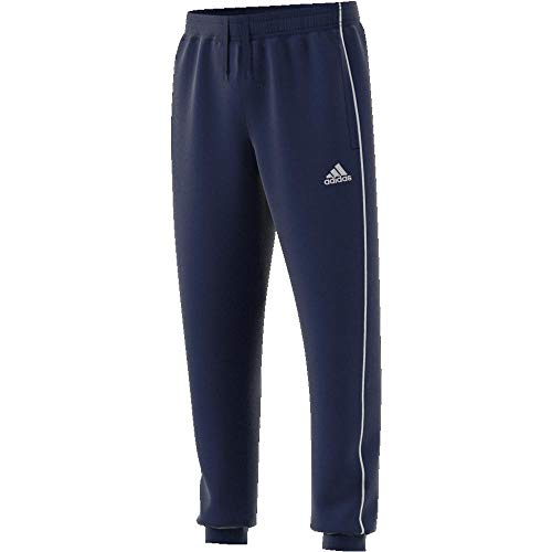 adidas Kinder CORE18 SW Pants, blau (dark blue/White), Size 164