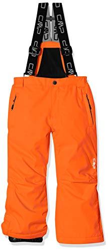 CMP Kinder Skihose 3W15994 Hosen, Red Orange, 128(M)