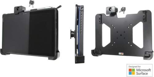 Brodit Passive holder with lock Microsoft Surface Pro 4, 539827 (Microsoft Surface Pro 4 with tilt swivel, 2 keys included, For device with UAG Case)