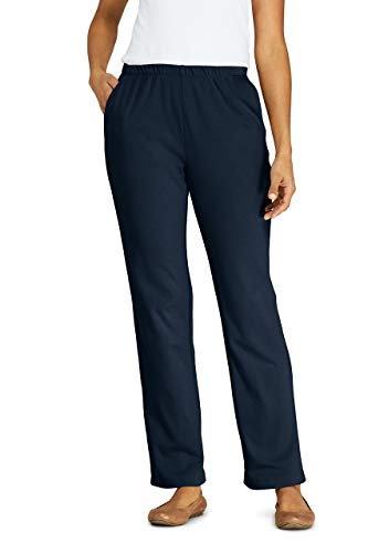 Lands' End Women s Sport Knit Pants Radiant Navy Regular X-Large