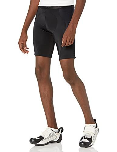 GORE WEAR C5 Mallas de ciclismo cortas para hombre con badana, L, negro