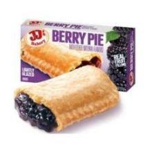 JJs Berry Pie Dessert -- 48 per case.