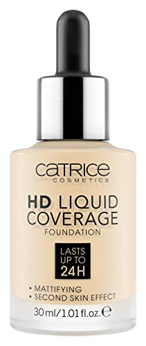 Catrice - Foundation - HD Liquid Coverage Foundation 002