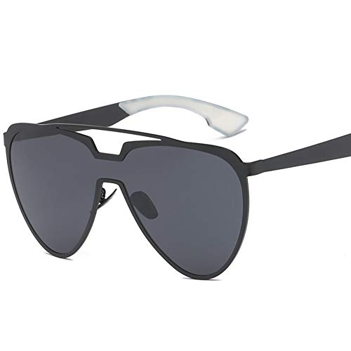 CHENG/ CHENG Sonnebrille Polarisierte Männer Sonnenbrillen Trend Der Großen Sonnenbrillen Männer Und Frauen Universal Sonnenbrillen Schwarze Pilot Sonnenbrille Mit Box