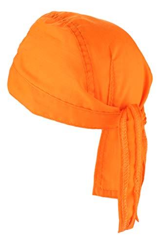 Alex Flittner Designs Bandana Cap unifarben orange