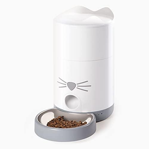 Catit Pixi Smart Futterautomat für Katzen, Steuerung via App, für 1,2kg geeignet