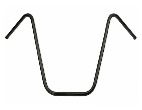 Alta Ape-Hangers Bicycle 22.2mm Handle Bars, Multiple Sizes and Colors (Black, 19')