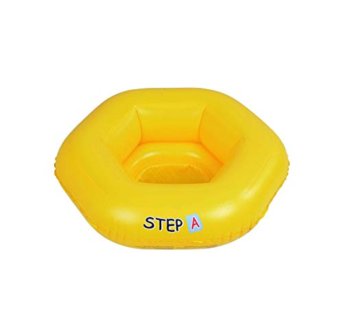 Inflatable Child Baby Toddler Rubber Swim Ring Pool Float Water Seat Swimming Floating Safety Resistant Strong Durable Heavy Duty