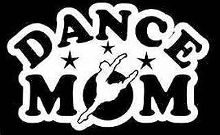 """Dance Mom Ballerina Dance Lessons Vinyl Decal Sticker White Cars Trucks Vans SUV Laptops Wall Art 5.5"""" X 4"""" CGS775"""